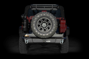 LOD Signature Series Armor Lite Gen 4 Shorty Rear Bumper w/Tire Carrier Black (Part Number: )