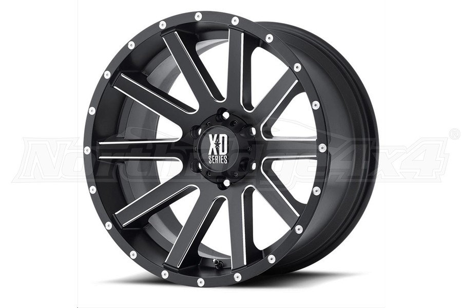 XD Series XD818 Heist Non-Beadlock Wheel, 20x10 5x5  - JT/JL/JK