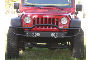 Rock Hard 4x4 Front Bumper w/Tube Extensions ( Part Number: RH5003)