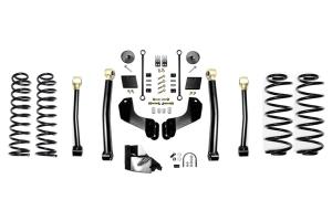 Evo Manufacturing 4.5in Enforcer Overland Stage 3 Lift Kit  - JL Diesel