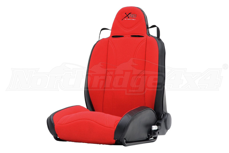 Smittybilt XRC Suspension Seat, Driver Side, Red/Black (Part Number:750230)