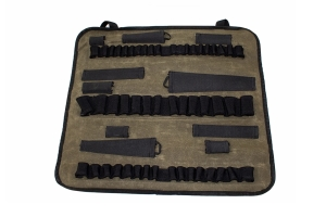 Overland Vehicle Systems Rolled Socket Bag, Waxed Canvas