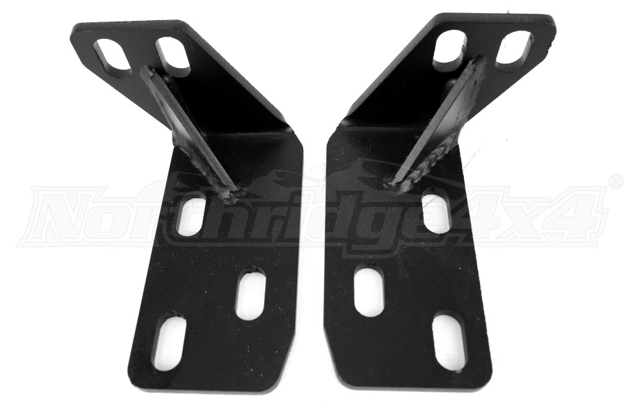 LOD Xpedition Series Frame Tie-In Brackets Black Powder Coated (Part Number:JFT9601)
