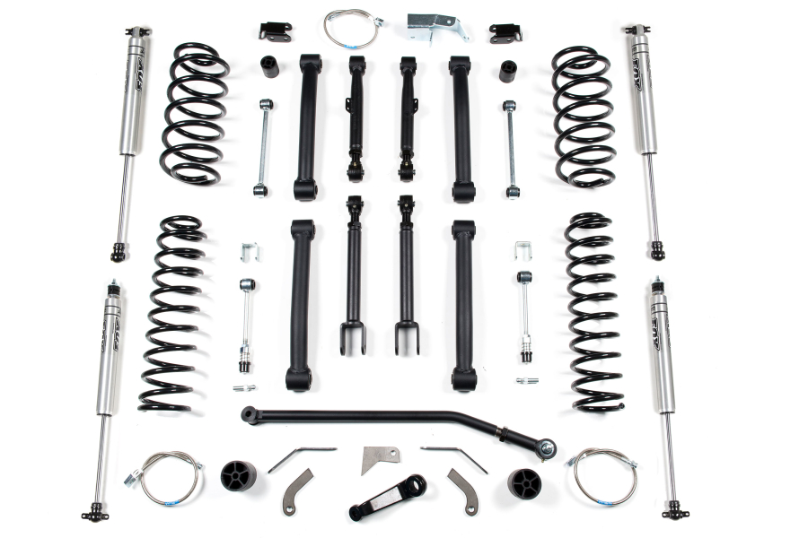BDS Suspension 4.5in Short Arm Suspension Lift Kit - TJ