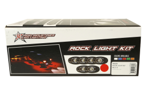 Rigid Industries A-Series Rock Light Kit Red (Part Number: )