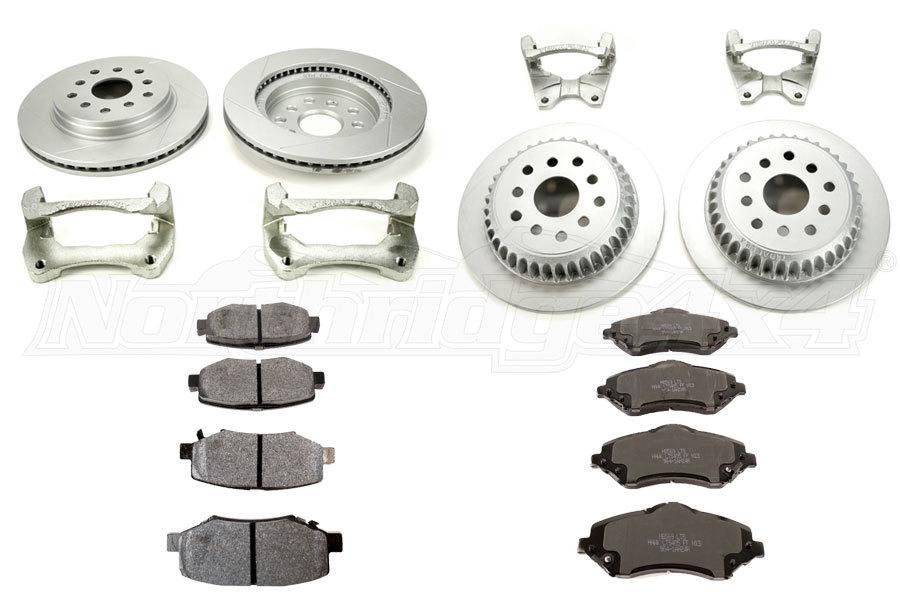 Teraflex Rotor Kits and Hawk Brake Pads - JK
