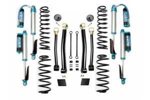 Evo Manufacturing 2.5in Enforcer Stage 3 Lift Kit w/ Comp Adjuster Shocks - JL
