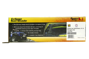 Rugged Ridge Eclipse Sun Shade Black - JK