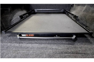 BedSlide 1000 Classic Cargo Slide System, 58in x 39in - Black - Toyota Tacoma 2002+ w/ 5ft Bed