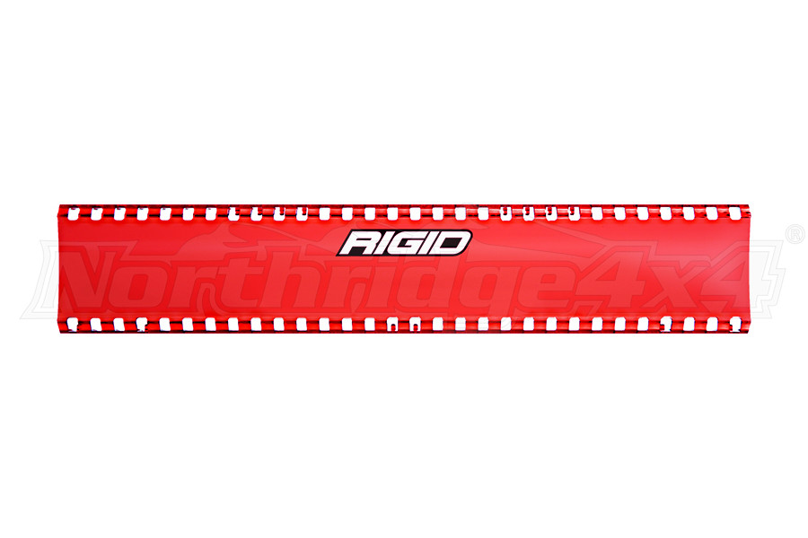 Rigid Industries SR-Series 10in Cover, Red  (Part Number:106003)