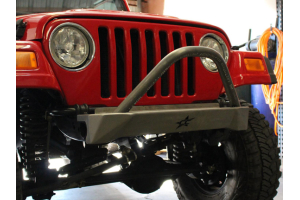 Crawler Conceptz Skinny Series Front Bumper w/Bar and Tabs Bare (Part Number: )