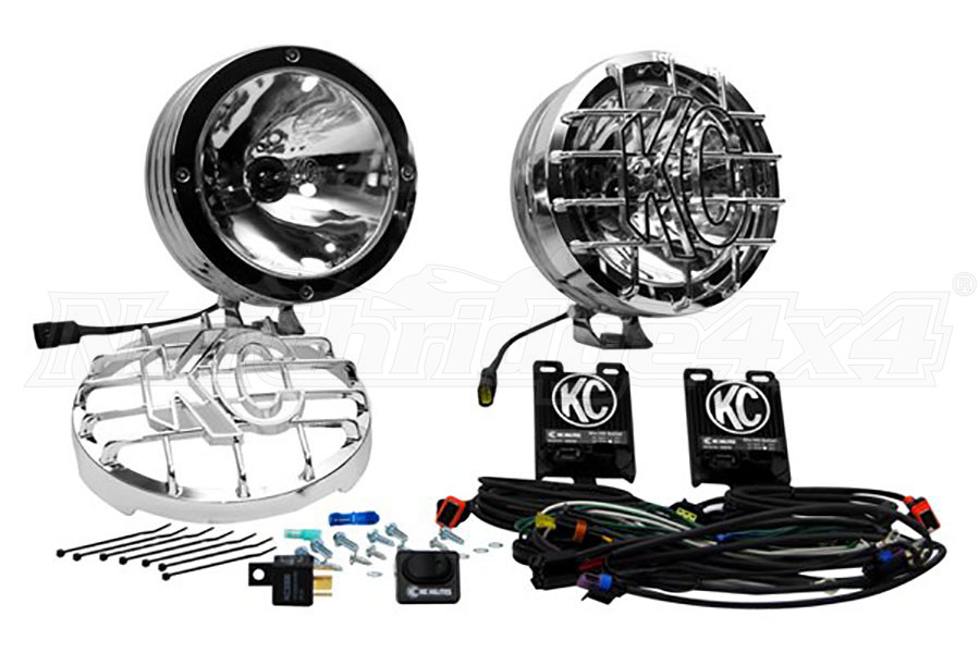 Fantastic Kc Hilites 8In Rally 800 Hid Pair Pack System Stainless Steel Wiring Cloud Hisonuggs Outletorg