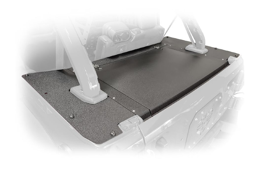 DV8 Offroad Rear Storage Cover - JL 4dr