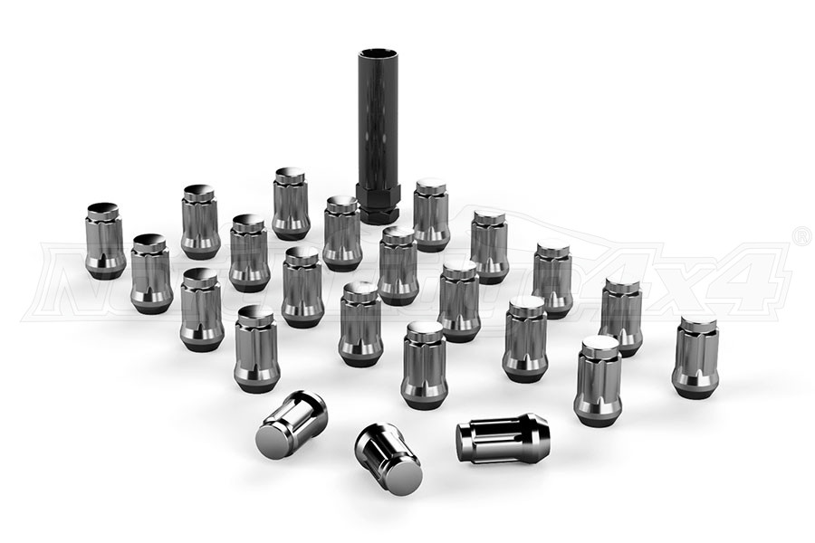 Teraflex Spline Drive Lug Nut Kit 1/2x20 CHROME - 23 PCS (Part Number:1050816)