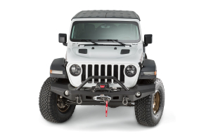 Warn Elite Series Full Width Front Bumper with Tube  - JT/JL
