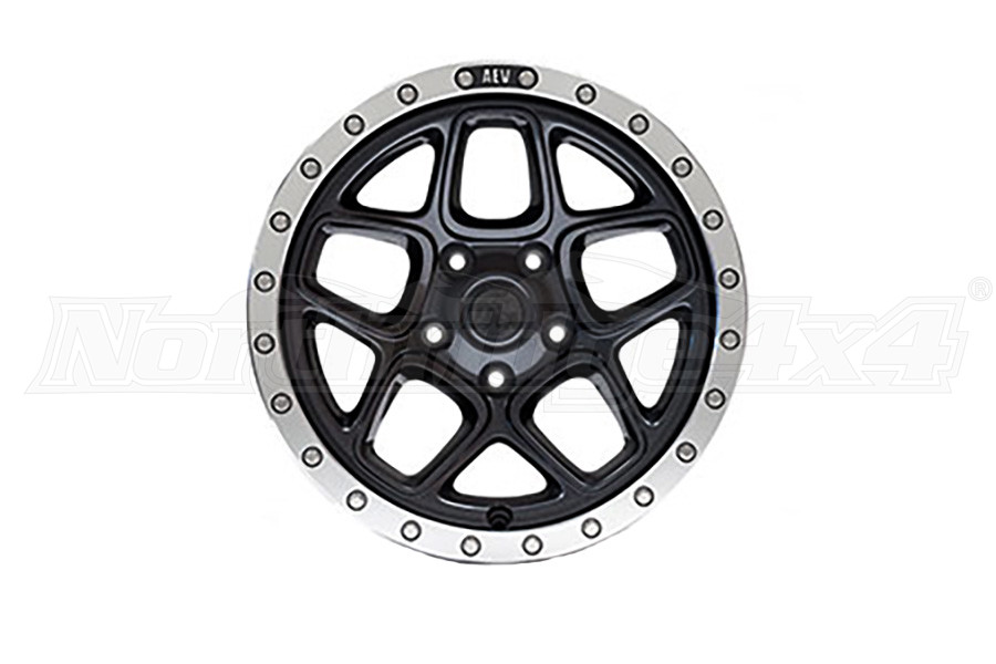 AEV Mesa Wheel Onyx Black w/ Machined Lip 18x8.5 5x5.5 - RAM 2009-18