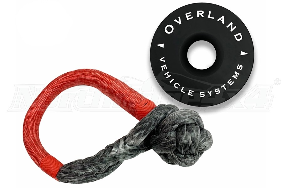 Overland Vehicle Systems Soft Shackle Combo Pack - 5/8in & 6.25in