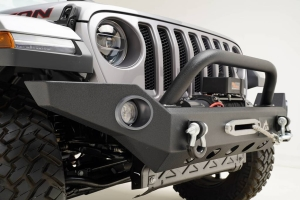 Paramount Full-Width Front Bumper w/Dual 12W LED Lights - JT/JL