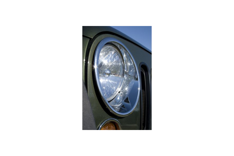 Rugged Ridge Chrome Headlight Bezel Set (Part Number:13311.20)
