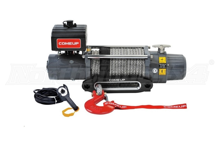 Comeup DV Premium Series 9s Recovery Winch w/ Synthetic Rope