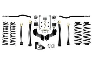 Evo Manufacturing 4.5in Enforcer Overland PLUS Stage 3 Lift Kit  - JL 4Dr Diesel