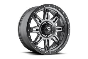 MHT Luxory Alloys Fuel Hostage III Wheel, GunMetal Matte 17x9 5x5 (Part Number: )