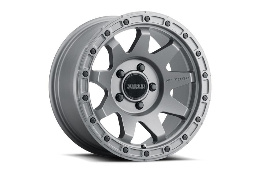 Method Race Wheels MR317 Titanium Wheel,17x8.5 5x5   - JT/JL/JK