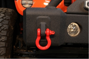 Fishbone Offroad 3/4in D-Ring Shackle - Red