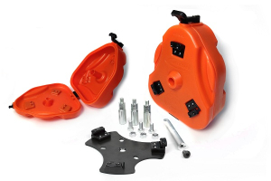 Daystar Cam Can 2 Gallon Storage Container Kit Orange (Part Number: )
