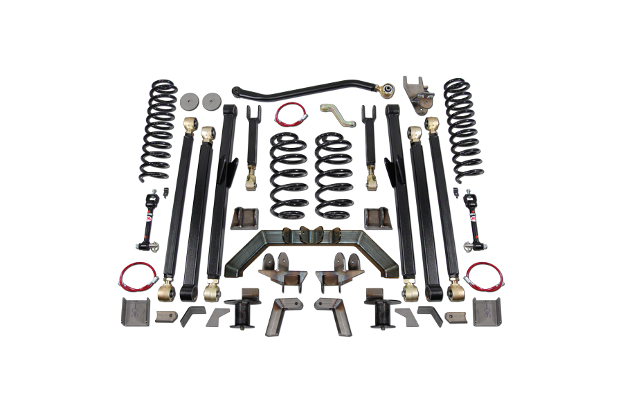 Clayton 5.5in Double Triangulated Suspension Lift 7in Stretch Kit (Part Number:3205130)