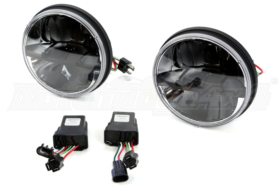 Rigid Industries Truck-Lite Series Round Headlights 7in (Part Number:55000)