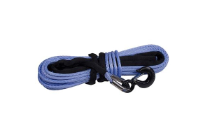 Rugged Ridge 3/8-Inch Synthetic Winch Line Blue (Part Number: )