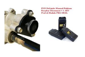 EVO Manufacturing Sway Bar Disconnect Kit w/AEV PKG PROCAL Programmer (Part Number: )