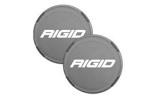 Rigid Industries 360-Series 6in LED Light Cover Smoke, - Pair