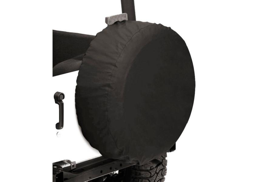 Bestop 33in Spare Tire Cover Black Diamond
