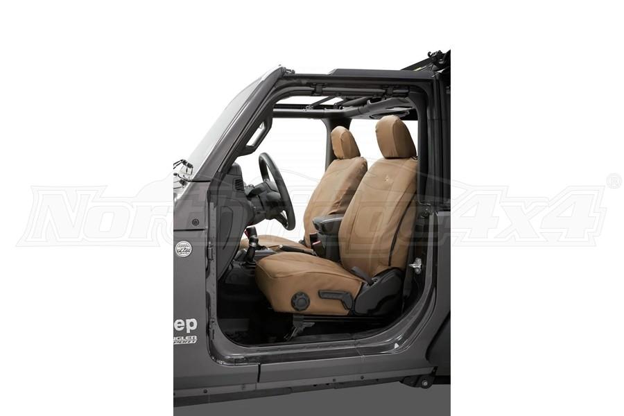 Bestop Front Seat Covers, Tan - JL 2Dr