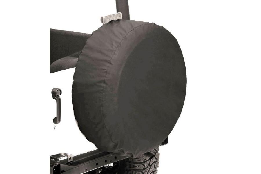 Bestop 33in Spare Tire Cover Black Denim