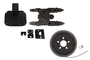 Rugged Ridge Tire Carrier and Brake Light Ring - JL