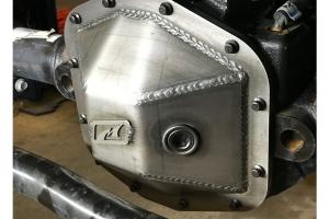 Motobilt Dana 44 Front Differential Cover - Bare Steel  - JT / JL Rubicon