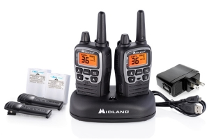 Midland X-Talker Two-Way Radios w/ Desktop Charger
