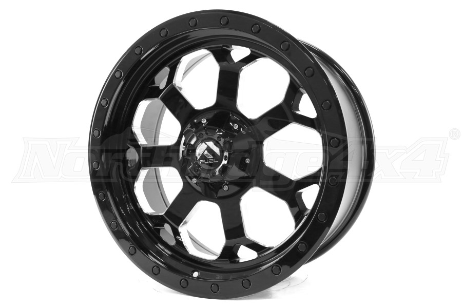 MHT Luxury Alloys Savage Wheel Black Milled 20x9 5x4.5 (Part Number:D56320902650)