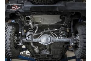 aFe Power MACH Force-Xp Hi-Tuck 2.5in Cat-Back Exhaust System - Polished - JL 4Dr 3.6L