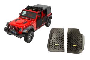 Bestop Sunrider for Hardtop and Floor Liner Package