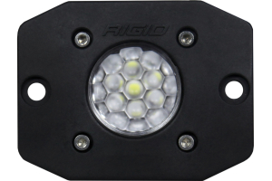 Rigid Industries Ignite Diffused Flush Mount, Black (Part Number: )