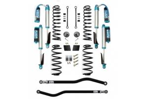 Evo Manufacturing 2.5in Enforcer Stage 1 PLUS Lift Kit w/ Comp Adjuster Shocks - JL