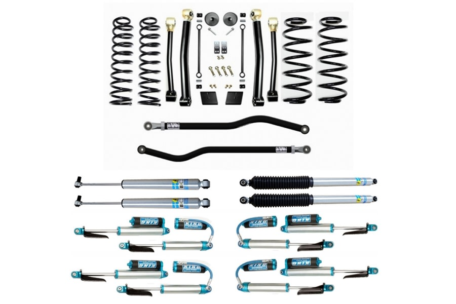 Evo Manufacturing HD 2.5in Enforcer Stage 3 PLUS Lift Kit w/ Shock Options - JL