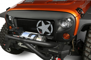 Rugged Ridge Spartan Grille Military Star Insert (Part Number: )