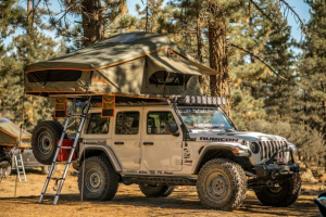 Roam Vagabond XL Rooftop Tent - No Annex - Slate Grey/Navy Blue