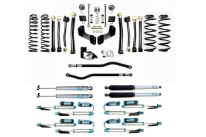 Evo Manufacturing HD 4.5in Enforcer Overland Stage 4 PLUS Lift Kit w/ Shock Options - JL
