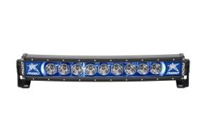 Rigid Industries RADIANCE+ Curved Light Bar Blue Backlight 20in